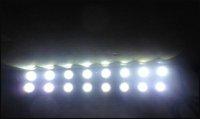 8LED 8W 170mm x 15mm x 18mm White Tiny Daytime Running Light Eagle Eye Driving DRL Fog Lamp 12V
