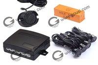 12V ultrasonic waterproof reverse sensor -Parking sensor no holes need to be drilled Buzzer parking sensor kits