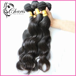 "Mixed lengths 3pcs/lot brazilian virgin hair extensions 100% human Body wave 16""-30"" natural color HWT01(China (Mainland))"
