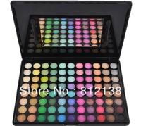 Free shipping !Pro 88 colors Matte Shimmer Color Eyeshadow Makeup Palette Set #01
