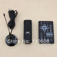 10Sets Mini USB HDTV DVB-T Digital TV Stick Tuner Antenna FM DAB Receiver Recorder MP3 MPEG4 ISDB AVI With Remote Control #JN799