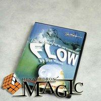 12pcs Paul Harris Presents: Flow by Dan Hauss - DVD /magic trick /12pcs wholesale
