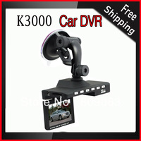 K3000 HD 720P 2.7 inch TFT LCD Screen Car DVR with 5.0 MP CMOS, 120 Degree View Angle Vehicle Portable