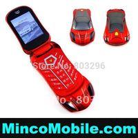 Unlocked 2.0 inch Screen Dual SIM Card Car Phone F918 Luxury Flip Mobile Phone