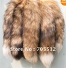 Natural yellow (red fox) Fox Fur Tail Keychain Tassel Bag Handbag Pendant Accessory Purse,keyring(China (Mainland))