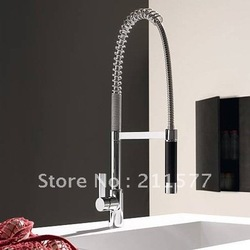 black shower modern deco brass spring kitchen sink Mixer(China (Mainland))