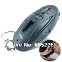 Alcohol Tester Breathalyzer Keychain  ( Car Gadget - Flashlight + Stopwatch )