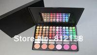 HOT! free shipping!  78 Colour 72 Eyeshadow 6 Blush Palette Makeup Eye Shadow #1 & #2, HS-A265
