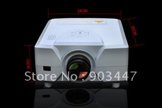 2200 lumen 100% New Home Theatre Projector(projektor,projecteur,proyector) Lamp Life 50,000 HRS Wii XBox PS3 etc games(China (Mainland))