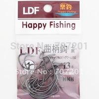 10packs  CraOffset Shank Wide Gapnk Fishing Hooks (10 packs)  2/0,3/0Strong!!!