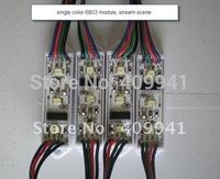 3LEDs LPD6803 IC SMD3528 Waterproof LED Pixel Digital Addressable Module Light-- Square Shape(YK-M3528R-D-3-A-X)