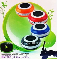 Factory Price T-128 Hamburger mini speaker, MP3/MP4 speaker,portable speaker for mobile phone,computer Free shipping DHL/EMS
