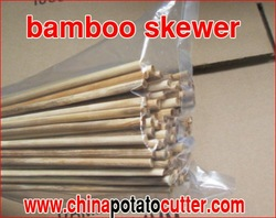 1000pcs=1carton 5kg10bags (1bag=100pcs)professional bamboo skewers manufacture Good Quality bbq Bamboo sticks Low price 4mmx40cm(China (Mainland))
