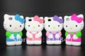 Lovely Cute 3D Hello kitty Soft Silicone Case Cover Skin For iPhone 4 4S 4G+Free Shipping