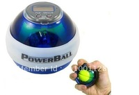 Hot Sale Power Ball Gyroscope LED Wrist Strengthener Ball+Speed Meter(Counter) Spin Ball with led counter free shipping