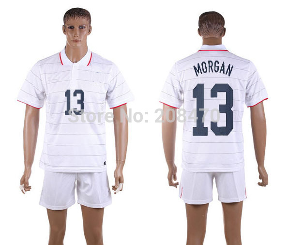 2012 2013 USA national team home jerseys #10 Donovan new American football casual t shirts thailand embroidery designer uniforms(China (Mainland))