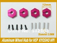 HSP 102042 Wheel Hex Upgrade Spare Parts For 1/10 R/C Model Car 02134
