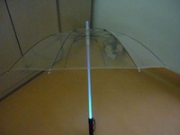New arrive!hot !85 cm LED lighting umbrella creative light rain gear night umbrella with long handle