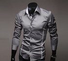 2012 hot sale  Free Shipping New Mens Shirts Casual Slim Fit Stylish Mens Dress Shirts 5902(China (Mainland))