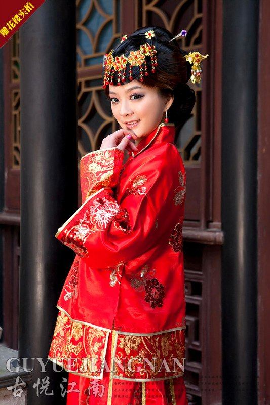 Free ShippingStage Dance Wear Traditional Chinese Hanfu Tang Clothing Chi Pao Cheongsam Costume