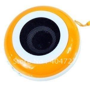 Brand New SD card/USB drive Hamburger Mini Speaker Free Shipping