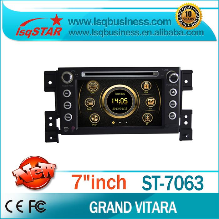 Free shipping Cheap model LSQ Star Car dvd player for Suzuki Grand Vitara with gps, navi ,Radio win-ce 6.0 ST-7063(China (Mainland))