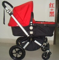 red+black Bugaboo Stroller - Original Quality And Packing can ship withine 24hours