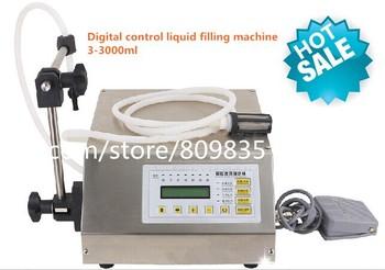 100% New GFK-160 Digital control pump Liquid filling machine (3-3000ml),LCD screen English panel,quanlity are reliable
