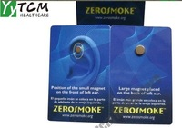 200set/lot  wholesale and retail Zero smoke Patch Quit smoking Auricular therapy magnet
