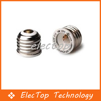 Free shipping E26-E12 Holders Lamp Converters E26 TO E12 LED Light Bulb Lamp Adapter 100pcs/lot