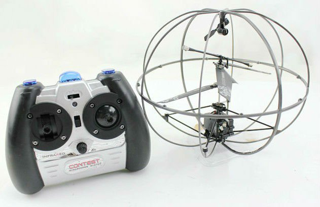 Novelty Helicopter wholesale!7.7 inches 12pcs/lot 3-CH Ir Big Robotic UFO(with Gyro & USB)(China (Mainland))