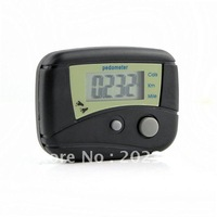 wholesales 100pcs/lots LCD Pedometer Step Calorie Counter Walking Distance New