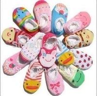 20pairs/lot free shipping,cartoon cotton multicolor kids socks, baby socks good retail packing wholesale #0006