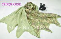 FREE SHIPPING,2012 new design silk scarf,patchwork silk shawl,100% silk ladies scarf,fashion muslim hijab,size is 50*180cm