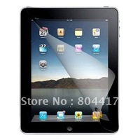 2012 New  1Pcs  Waterproof Clear LCD  Screen Protector Guard Film for iPad 2 with Cleaning Cloth