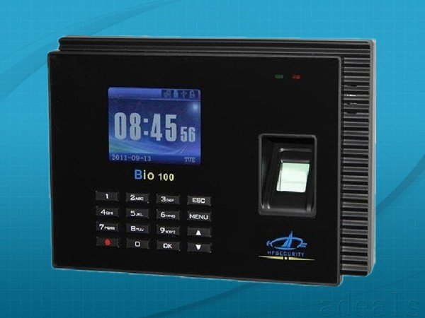 nice software and can work stand alone Web-based Fingerprint Time and Attendance Machine One unit Bio100+10 pcs ID cards(China (Mainland))