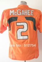 Free Shipping,#2 Willis McGahee Jersey,College Football Jersey,embroidery logos,size 48-56,mix order