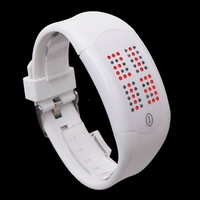 Fashion Women Man Touch Screen LED Digital Wrist Sport Watch Clock Rubber