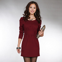 2012 New Hitz ladies fashion temperament dress Slim Korean sub