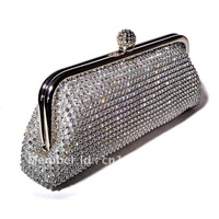 2012 New arrival  crystal wedding bags designer evening party bags