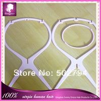 Pink plastic wig stand/Wig Holder/wig stand holder