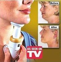Neckline Slimmer TV Neck Line Exerciser Thin Chin Massager As Seen On TV  FREE SHIPPING 6PCS/LOT