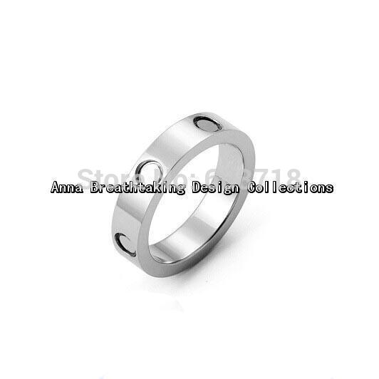 Free Shipping Hot Sell LOVE RING,In 18K White Gold Plated,Womens Favorite Romantic Ring,Elegance Narrow Surface Ring For Lovers(China (Mainland))
