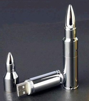 Free Shipping!!!! NEW silver bullet Genuine 32GB USB 2.0 Memory Stick Flash Pen Drive