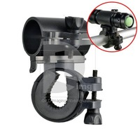 Cycling Bicycle Bike Flashlight LED Torch Mount Holder free shipping