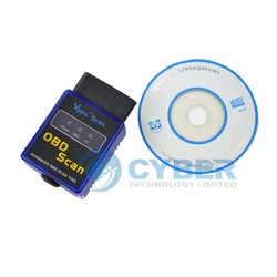MINI327 ELM 327 V1.5 OBD-II Bluetooth Auto Scanner OBD2 Diagnostic Tool Free Shipping(China (Mainland))