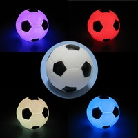 10X Modern Football Shape LED Mostones Night Lamp Colorama Colors Light 1611 K0012