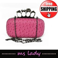 2012 woman fashion cluch evening bags free shipping HK airmail