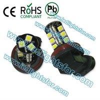 20pcs/lot high quality  27 SMD 5050,h8 led canbus,fog h8 led bulbs,H8 lights canbus