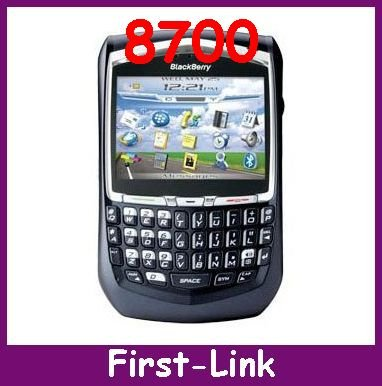 Unlocked Original Blackberry 8700, PDA Software Unlocked Curve 8700, Original 8700 Cell Phone,Curve WI-FI phone FREE SHIPPING(China (Mainland))